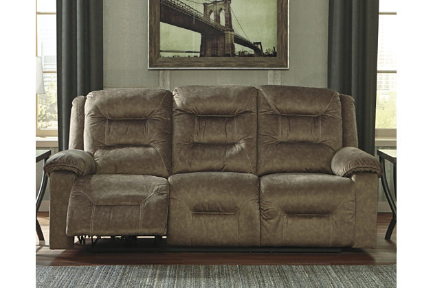 Waldheim Reclining Sofa Mocha Large