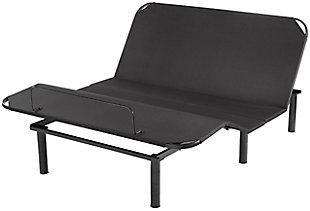 Serta Motion Air Twin XL Adjustable Base, Black, large