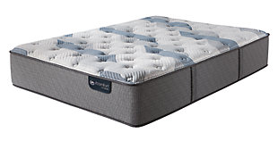 iComfort Hybrid Blue Fusion 200 Plush Twin Mattress, Gray/Blue, large