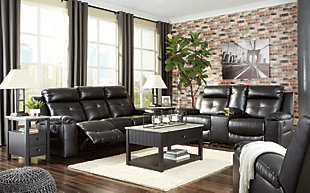 Kempten Sofa, Loveseat and Recliner, , large