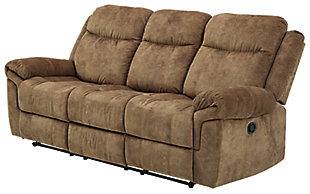 Huddle-Up Reclining Sofa with Drop Down Table, , large