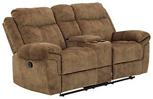 Huddle-Up Reclining Loveseat with Console, , large