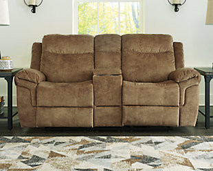 Huddle-Up Reclining Loveseat with Console, , rollover