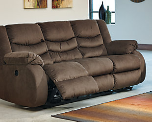 Chivington Reclining Sofa, Earth, rollover