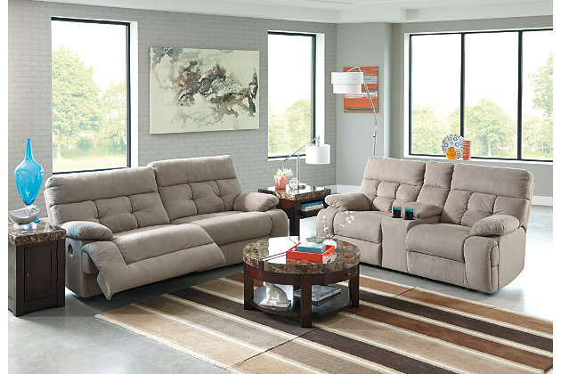 Overly Power Reclining Sofa Ashley Furniture Homestore
