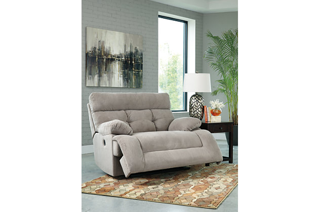 home overly oversized power recliner product shown in open position - Power Recliner