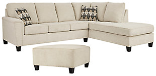 Abinger 2-Piece Sectional with Ottoman, , large