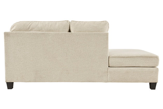 Abinger 2-Piece Sectional with Chaise, Natural, large