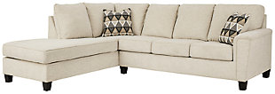 Abinger 2-Piece Sleeper Sectional with Chaise, Natural, large