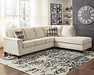 Abinger 2-Piece Sectional with Chaise, Natural, rollover