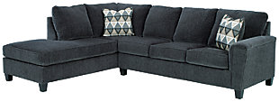 Abinger 2-Piece Sleeper Sectional with Chaise, Smoke, large