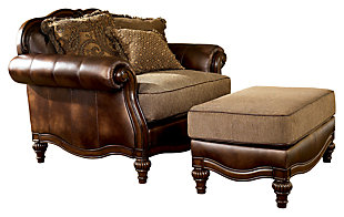 Claremore Oversized Chair, , Large ...