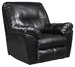 Kilzer Recliner, Black, large