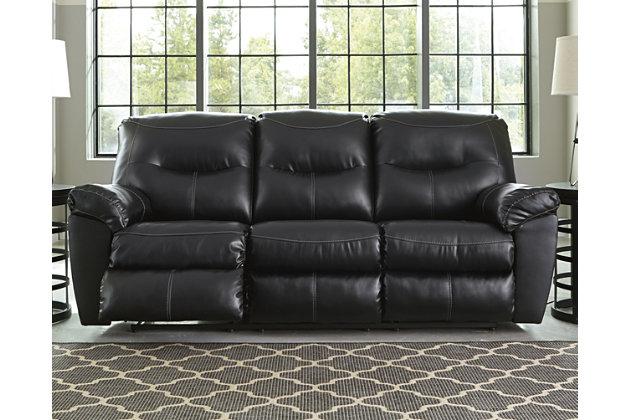 Kilzer DuraBlend ® Reclining Sofa by Ashley HomeStore, Bl...