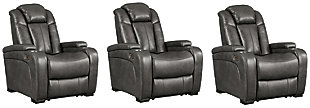 Turbulance 3-Piece Home Theater Seating, , large