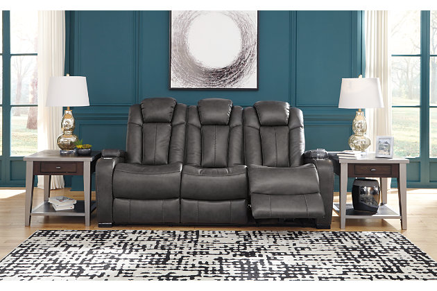 Turbulance Power Reclining Sofa Ashley Furniture Homestore