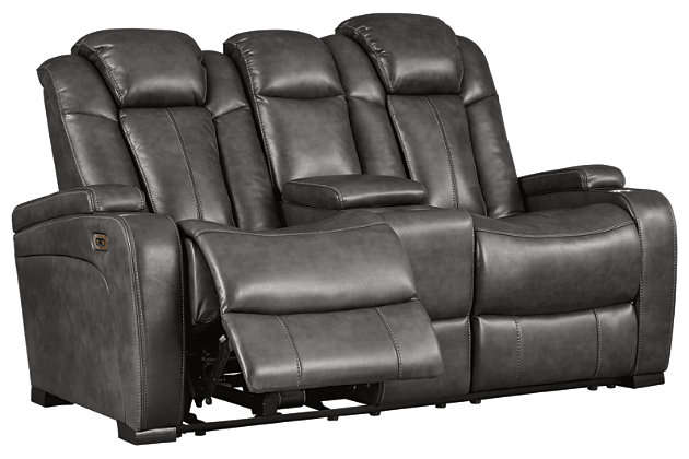 Turbulance Power Reclining Loveseat, , large