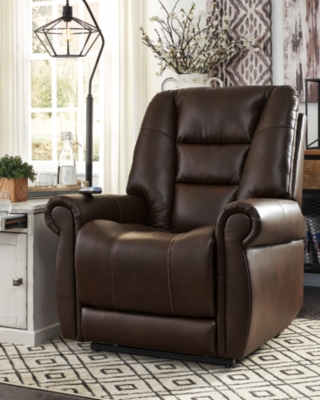 Lift Recliner Chocolate Power Product Photo 895