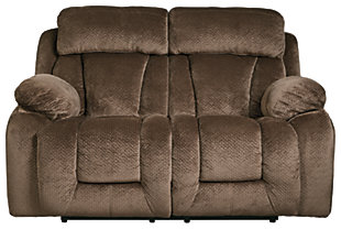 Stricklin Power Reclining Loveseat, Chocolate, large