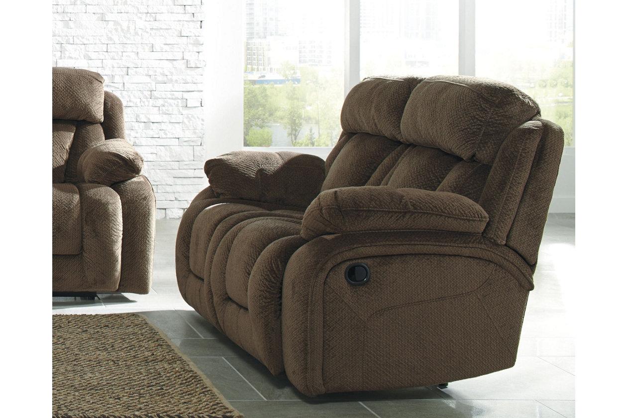 Swell Stricklin Power Reclining Loveseat Ashley Furniture Homestore Andrewgaddart Wooden Chair Designs For Living Room Andrewgaddartcom