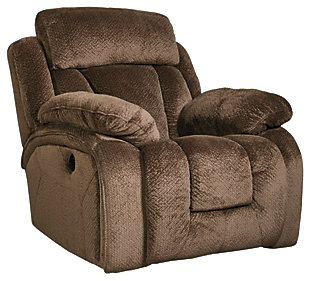 Stricklin Recliner, Chocolate, large