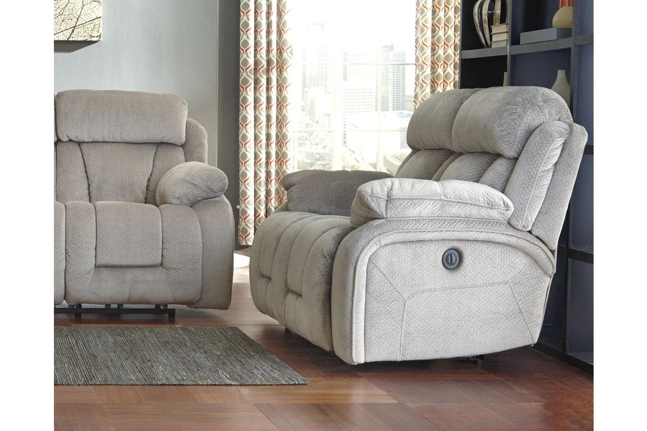 Wondrous Stricklin Power Reclining Loveseat Ashley Furniture Homestore Andrewgaddart Wooden Chair Designs For Living Room Andrewgaddartcom