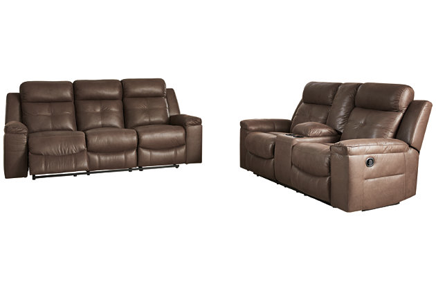 Jesolo Sofa and Loveseat, Coffee, large