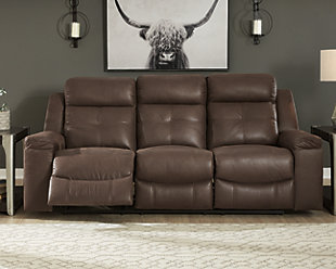 Jesolo Reclining Sofa, Coffee, rollover