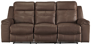 Jesolo Reclining Sofa, Coffee, large