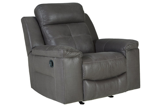 Jesolo Recliner, Dark Gray, large