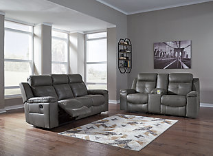 Jesolo 2-Piece Upholstery Package, Dark Gray, large