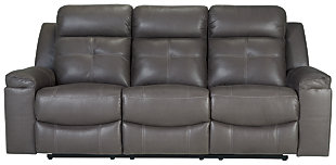 Jesolo Reclining Sofa, Dark Gray, large
