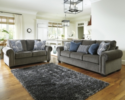 Navasota Sofa and Loveseat Ashley Furniture HomeStore