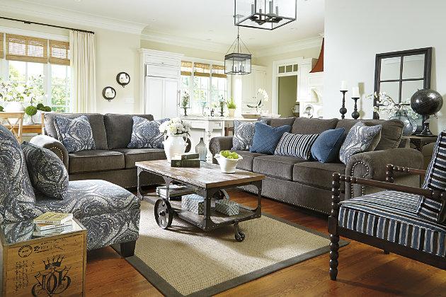 Navasota Armless Chair Ashley Furniture Homestore