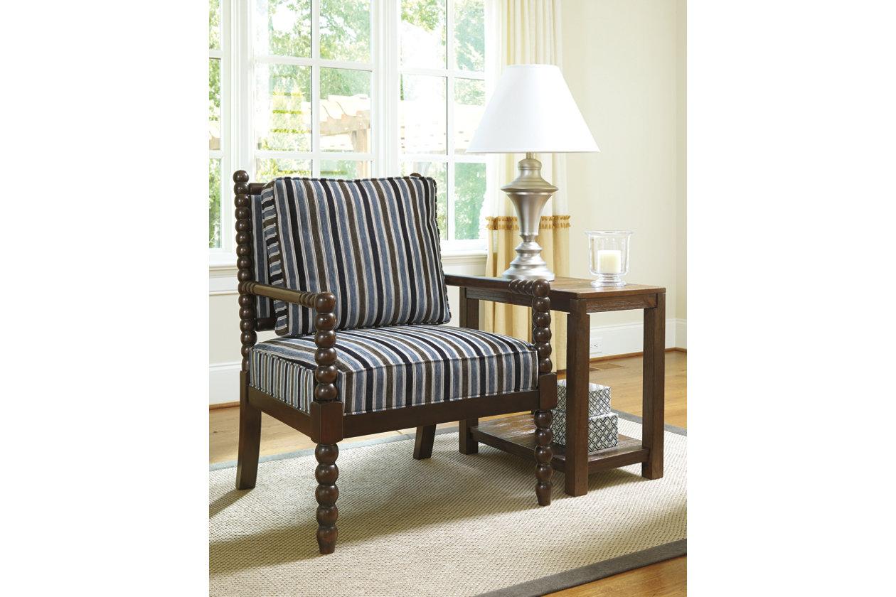 Miraculous Navasota Accent Chair Ashley Furniture Homestore Theyellowbook Wood Chair Design Ideas Theyellowbookinfo