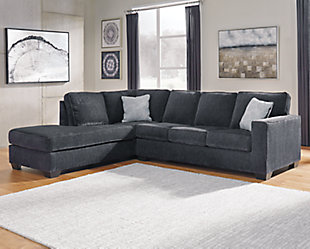 Altari 2-Piece Sectional with Chaise, Slate, rollover