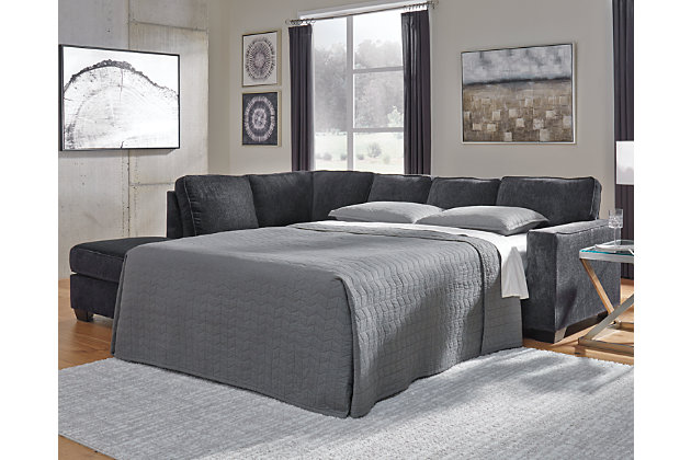 Altari 2 Piece Sleeper Sectional With, Ashley Furniture Sectional Sofa Bed