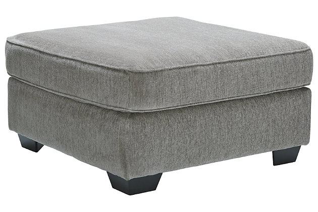 Altari Oversized Accent Ottoman, Alloy, large