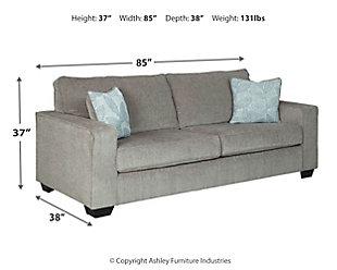 Altari Sofa, Alloy, large