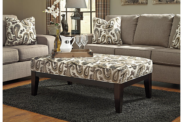 Check out the Arietta Ottoman Product Photo