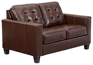 Altonbury Loveseat, Walnut, large