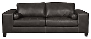 Nokomis Sofa, Charcoal, large