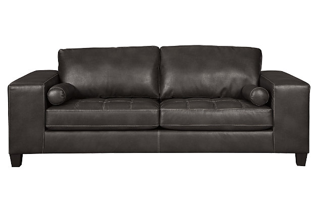 Nokomis Queen Sofa Sleeper, Charcoal, large