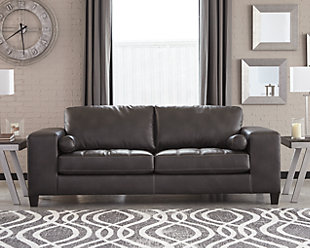 Nokomis Sofa, Charcoal, rollover