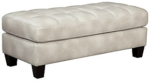 Nokomis Oversized Chair Ottoman, Arctic, large