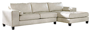 Nokomis 2-Piece Sectional with Chaise, Arctic, large