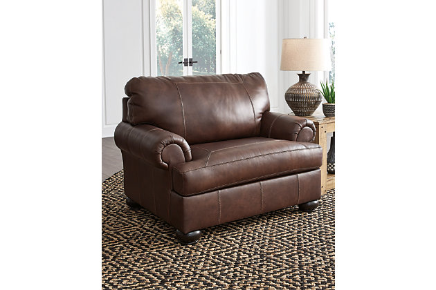 Beamerton Oversized Chair Ashley, Ashley Furniture Leather Chair