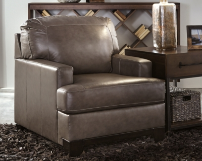 Pewter Leather Chair Product Photo 995