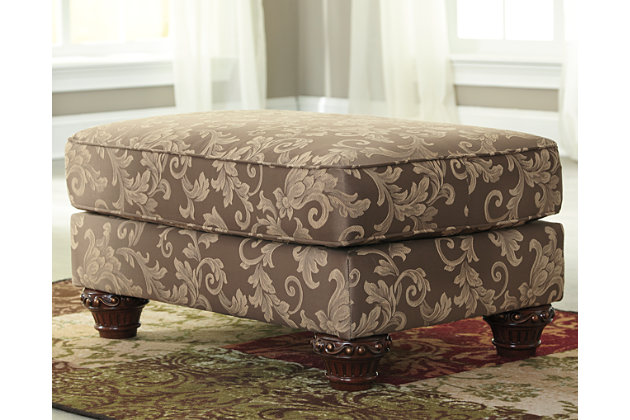 Irwindale Ottoman by Ashley HomeStore, , Cotton/polyester