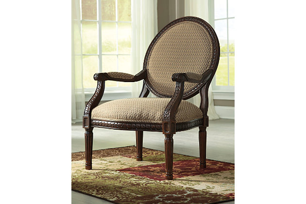 Irwindale Accent Chair by Ashley HomeStore, Cotton/Polyester